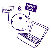 vegan and gluten-free cookie