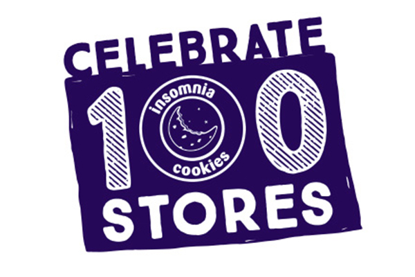 Insomnia Cookies Celebrates 100 Stores with Free Cookies