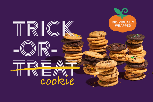 A Spooky Good Deal: 50 Individually Wrapped Cookie Pack for $50