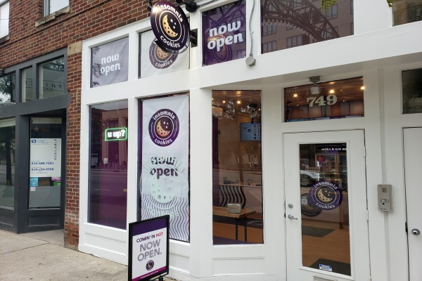 Insomnia Cookies Columbus - Short North Now Open to Satisfy Your Sweets Cravings All Day and Laaaaate into the Night