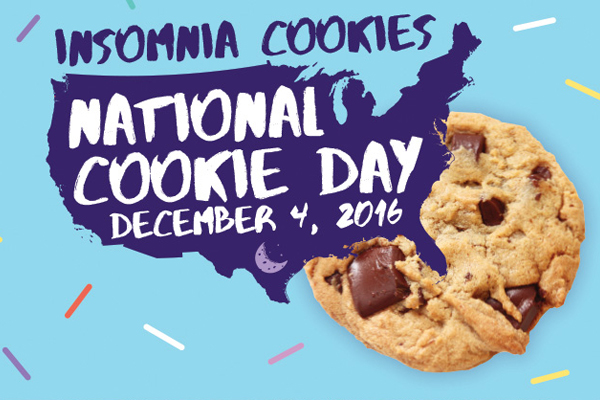 Insomnia Cookies Gears up for Celebration of National Cookie Day