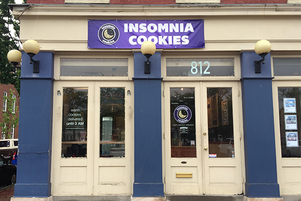 Insomnia Cookies Charms Customers with  Free Cookies at Two New Baltimore Locations