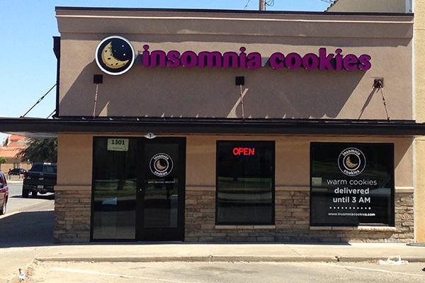 Techsans to be the first to try Insomnia Cookies