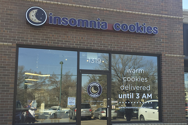 There's no place like Insomnia Cookies!