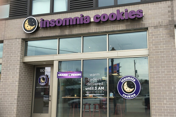 Insomnia Cookies opens Third Location in Wisconsin