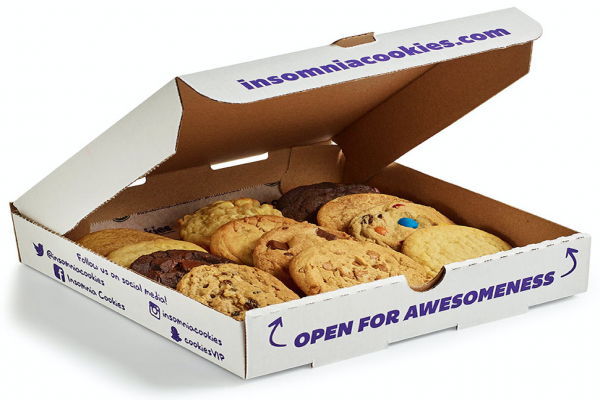 GET THE ULTIMATE FAT TUESDAY SUGAR RUSH AND CELEBRATE LEAP YEAR'S EXTRA DAY WITH INSOMNIA COOKIES